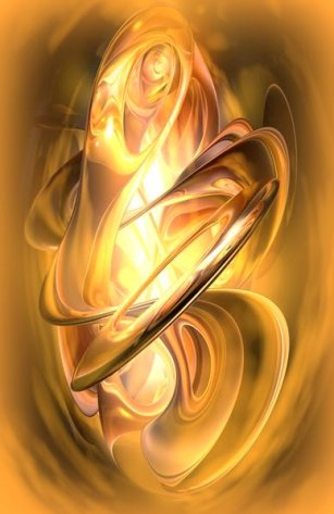 gold flames enhanced